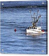 Fishing Boat Return Acrylic Print