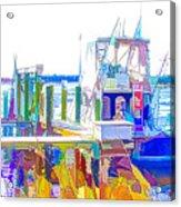 Fishing Boats 2 Acrylic Print