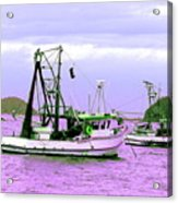 Fishing Boats At Pearl Beach 1.0 Acrylic Print