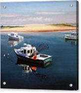 Fishing Boats-cape Cod Acrylic Print