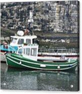 Fishing Boats Clarnlough Northern Ireland Acrylic Print