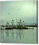 Fishing Boats Columbia River Acrylic Print