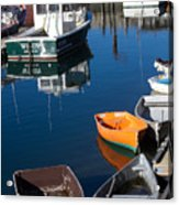 Fishing Boats, Rockport, Ma Acrylic Print