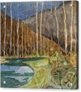 Fishing Creek Acrylic Print