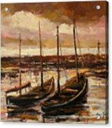 Fishing Cutters  Acrylic Print
