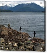 Fishing False Outer Point Acrylic Print