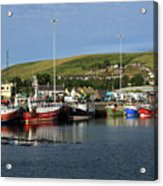 Fishing Fleet At Dingle, County Kerry, Ireland Acrylic Print