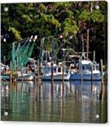 Fishing Fleet Acrylic Print