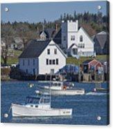Fishing Harbor Acrylic Print