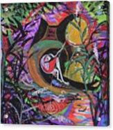 Fishing In Wonderland Acrylic Print
