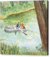 Fishing Lake Tanko Acrylic Print