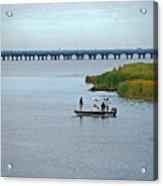 Fishing On The Flats Acrylic Print