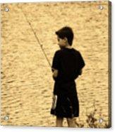 Fishing Patience Acrylic Print