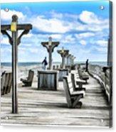 Fishing Pier 13 Acrylic Print