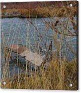 Fishing Platform  Acrylic Print