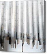 Fishing Poles Acrylic Print