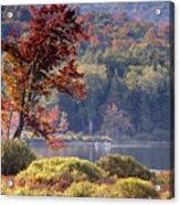 Fishing The Adirondacks Acrylic Print