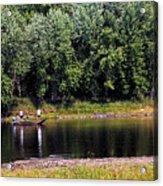 Fishing The St Croix Acrylic Print