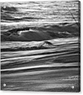 Fishing The Surf Acrylic Print