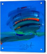 Fishing Trawler Hastings Stade Acrylic Print