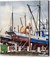Fishing Vessel Ranger Drydock Acrylic Print