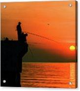 Morning Fishing 2 Acrylic Print