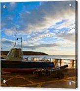 Fishing Village Filey Acrylic Print