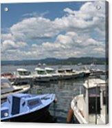 Fishingboats Acrylic Print