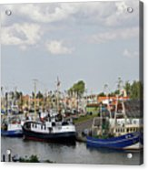 Fishingport Buesum Acrylic Print