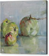Five Apples Acrylic Print