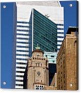 Five Building New York  Acrylic Print