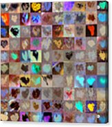 Five Hundred Series Acrylic Print by Boy Sees Hearts