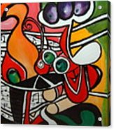 Five O' Clock With Picasso Acrylic Print