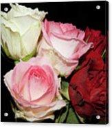 Five Roses Acrylic Print