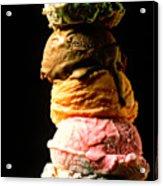 Five Scoops Of Ice Cream Acrylic Print