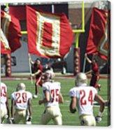 Flag Football Acrylic Print