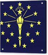Flag Of Indiana Wall Acrylic Print