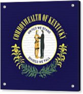Flag Of Kentucky Wall Acrylic Print