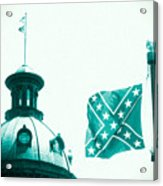 Flag8320sd5143grain Acrylic Print