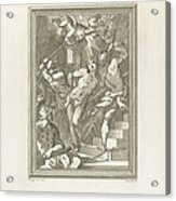 Flagellation Of A Saint Acrylic Print