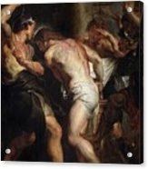 Flagellation Of Christ 2 Peter Paul Rubens Acrylic Print