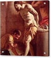 Flagellation Of Christ Acrylic Print by Pietro Bardellini