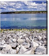 Flaggy Shore Acrylic Print