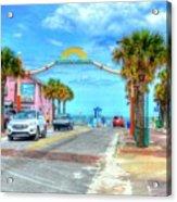 Flagler Avenue Acrylic Print