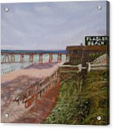 Flagler Beach Pier 1 Acrylic Print