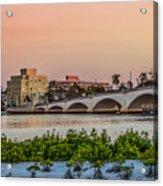 Flagler Bridge In The Evening I Acrylic Print