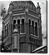 Flagler Memorial Presbyterian Church 3  B-w Acrylic Print
