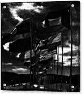 Flags Acrylic Print