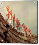 Flags Of London Acrylic Print
