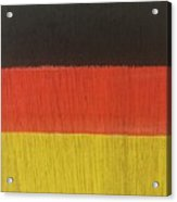 Flags Of The World - Germany 15-r12 Acrylic Print